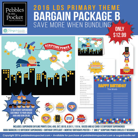 Primary 2016 Bargain Package B Digital Download