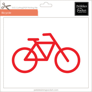 Bicycle Digital Download SVG & Pdf