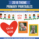 Primary 2018 Bulletin Board Bundle Digital Download Pdfs