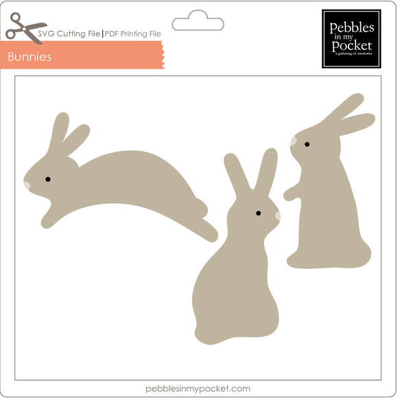 Bunnies Digital Download SVG & Pdf