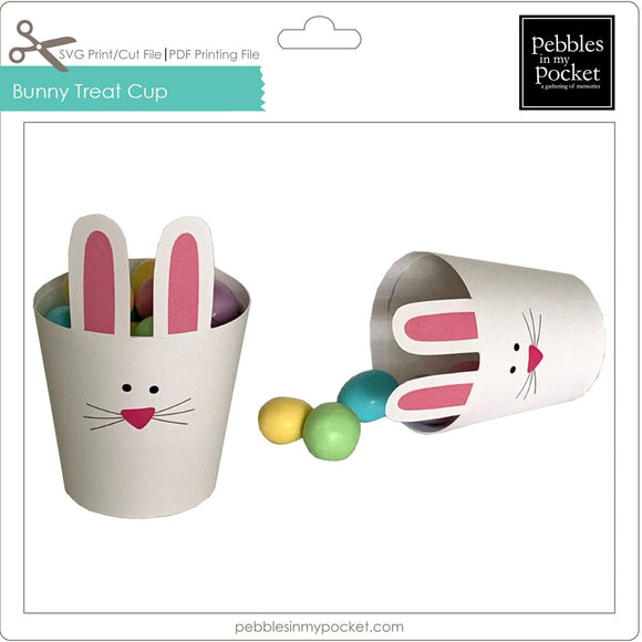 Bunny Treat Cup Digital Download SVG & Pdf