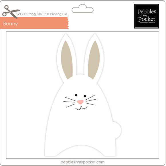 Bunny Digital Download SVG & Pdf