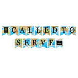 Called to Serve Map Banner Digital Download Print/Cut SVG & Pdf