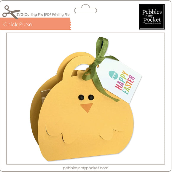 Chick Purse Digital Download SVG & Pdf