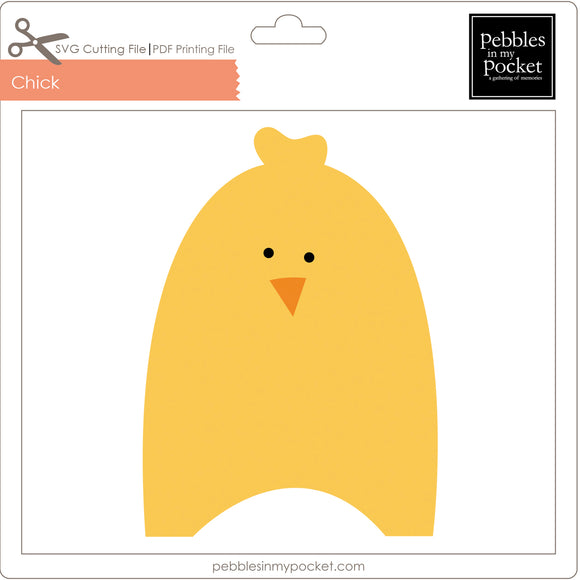 Chick Digital Download SVG & Pdf