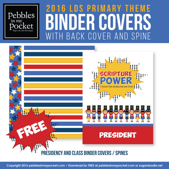 Primary 2016 Class Binders Digital Download Pdf FREE
