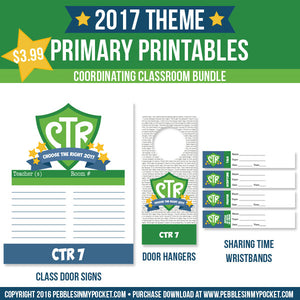 Primary 2017 Classroom Bundle Digital Download Pdf & Jpgs