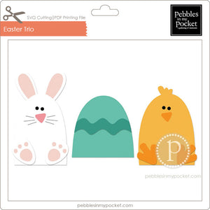 Easter Trio Digital Download SVG & Pdf