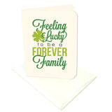 Feeling Lucky to be a Forever Family Prints/Card Digital Download Print/Cut SVG & Pdf