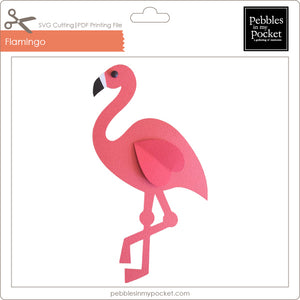 Flamingo Digital Download SVG & Pdf