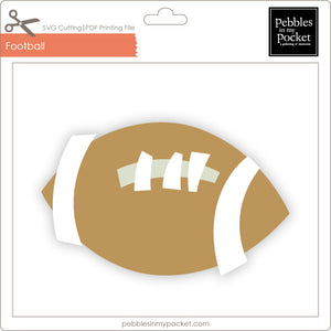 Football Digital Download SVG & Pdf