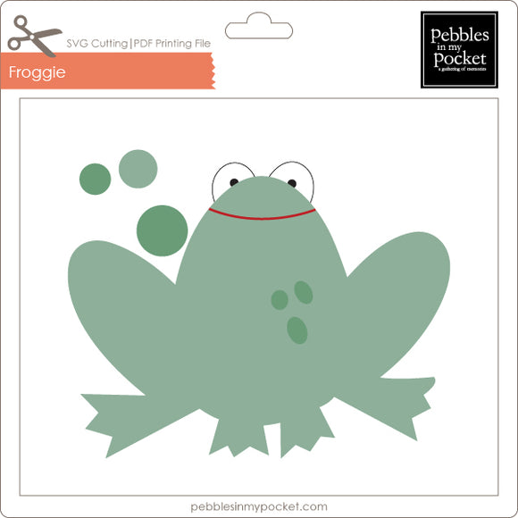 Froggie Digital Download SVG & Pdf