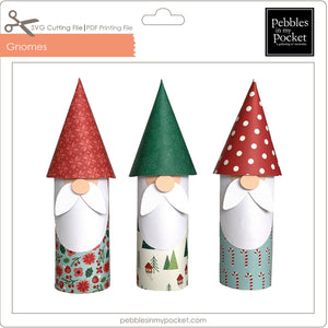 Gnomes Digital Download SVG & Pdf
