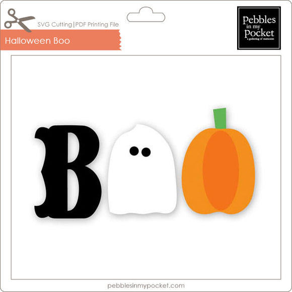 Halloween Boo Download SVG & Pdf