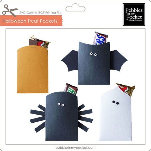 Halloween Treat Pockets Digital Download SVG & Pdf