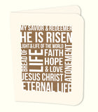 He is Risen Kraft Prints/Card Digital Download Print/Cut SVG & Pdf