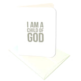 I Am a Child of God Prints/Card Digital Download Print/Cut SVG & Pdf