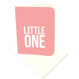 Little One Pink Prints/Card Digital Download Print/Cut SVG & Pdf
