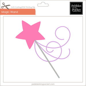 Magic Wand Digital Download SVG & Pdf