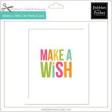 Make a Wish Girl Prints/Card Digital Download Print/Cut SVG & Pdf