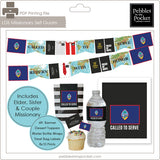 LDS Missionary Farewell/Homecoming Decoration Sets (U.S. & International Missions)