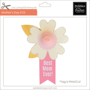 Happy Mother's Day EOS Lip Balm Digital Download SVG & Pdf