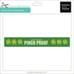 Pinch Proof Bracelet Digital Download Print/Cut SVG & Pdf