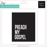 Preach My Gospel Prints/Card Digital Download Print/Cut SVG & Pdf