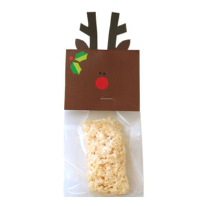 Rudolf Treat Bag Topper Digital Download Pdf
