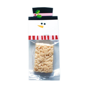 Snowman Red Treat Bag Topper Digital Download Pdf