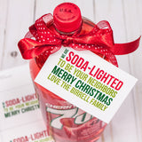 Soda-Lighted Neighborhood Gift Tags Digital Download Print/Cut SVG and Pdf