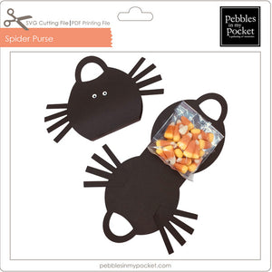 Spider Purse Digital Download SVG & Pdf