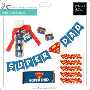 Super Dad Bundle Digital Download Print/Cut SVG & Pdf