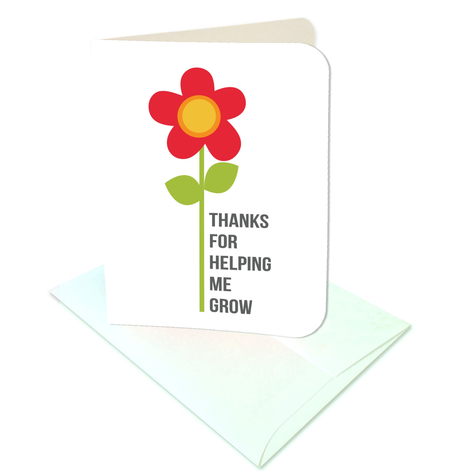 thanks for helping me grow tags card digital download print cut