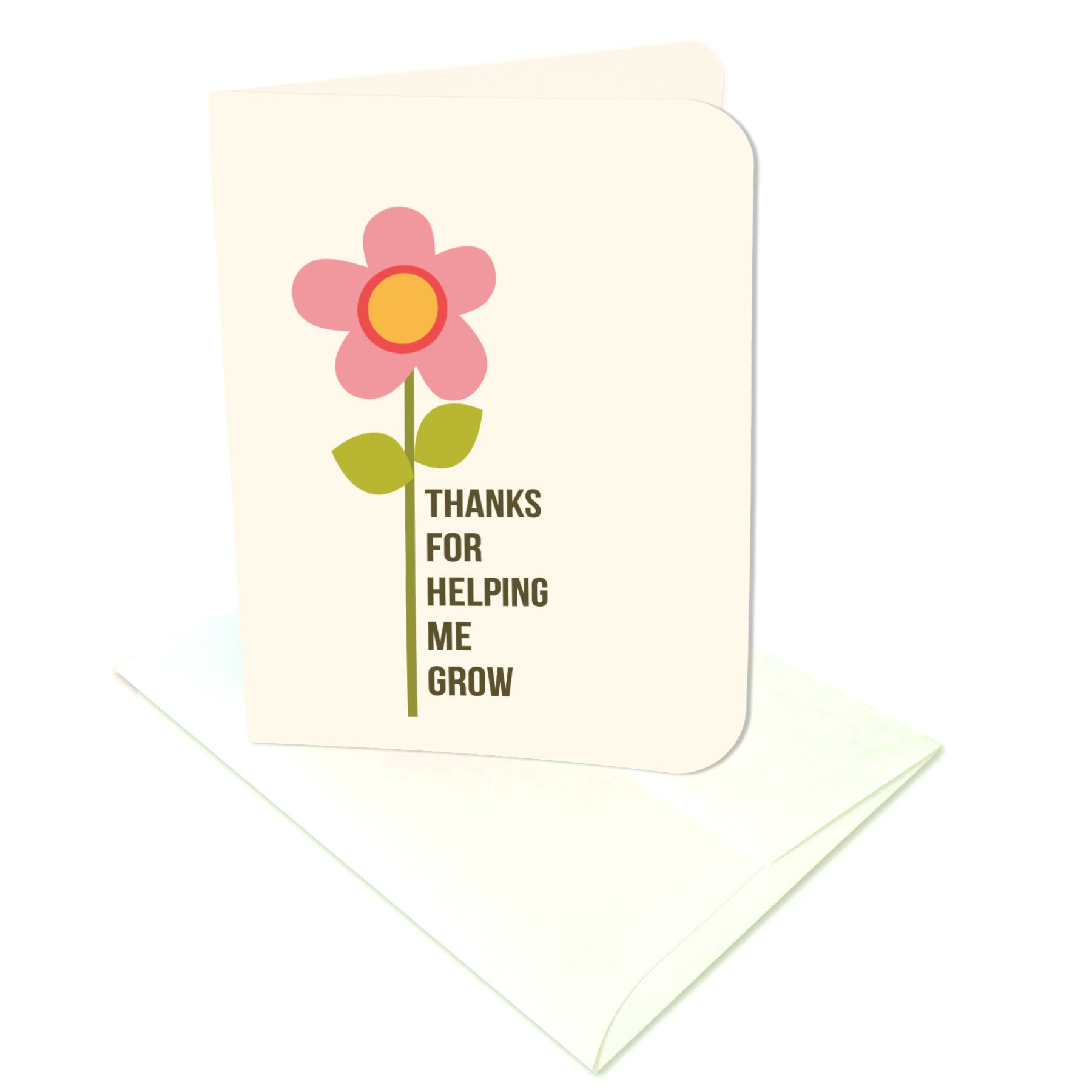 thanks for helping me grow prints card digital download print cut