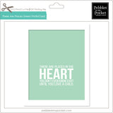 There are Places Green Prints/Card Digital Download Print/Cut SVG & Pdf