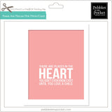 There are Places Pink Prints/Card Digital Download Print/Cut SVG & Pdf