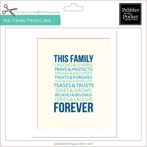 This Family Prints/Card Digital Download Print/Cut SVG & Pdf
