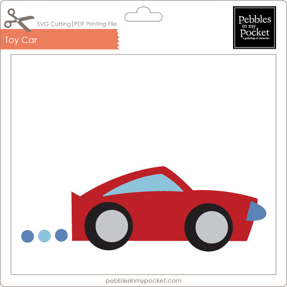 Toy Car Digital Download SVG & Pdf