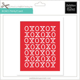 XOXO Prints/Card Digital Download Print/Cut SVG & Pdf
