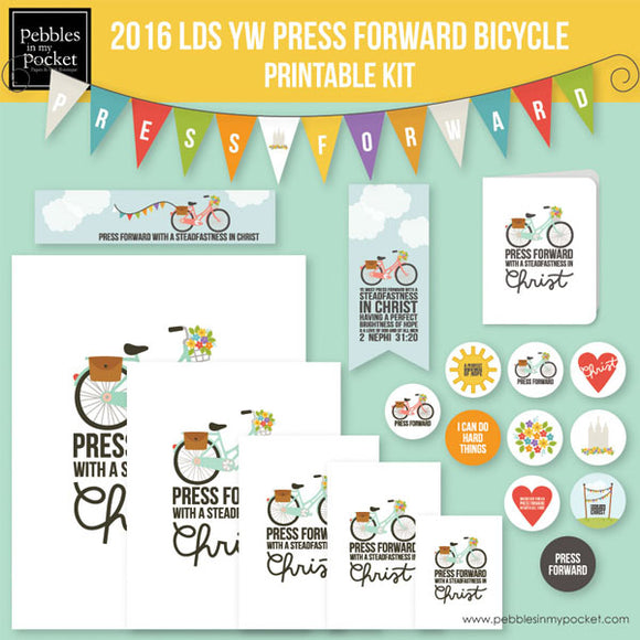 YW Press Forward Bicycle Bundle Digital Download Zip
