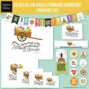 YW Press Forward Handcart Bundle Digital Download Zip