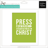 YW Press Forward Arrow Prints/Card Digital Download Print/Cut SVG & Pdf