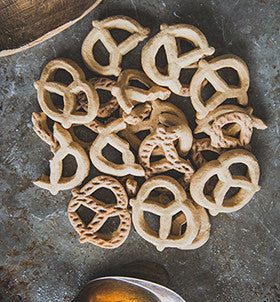 Honey Cinnamon Pretzels