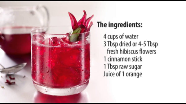 recipe for hibiscus tea