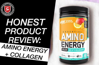 Honest Product Review: Optimum Nutrition Amino Energy plus Collagen