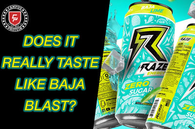 Honest Product Review: Raze Energy Baja Lime