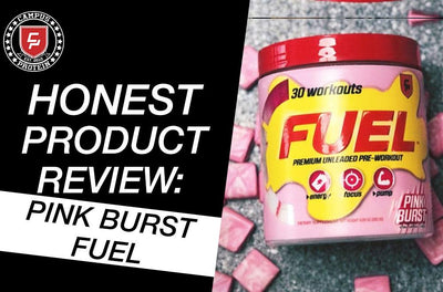 Honest Product Review: Campus Protein FUEL Pink Burst