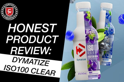 Honest Product Review: Dymatize ISO100 Clear Protein Bottles