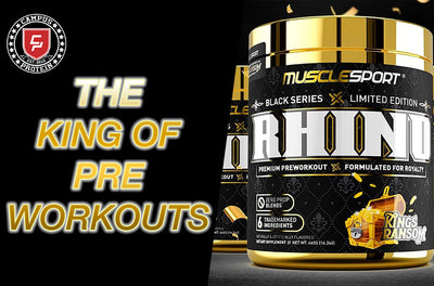 Honest Product Review: Musclesport Limited Edition Rhino Black